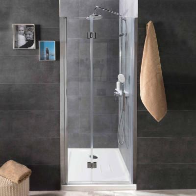 Mampara VISAGE de ducha frontal cristales transparentes