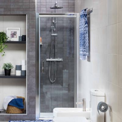 Mampara VALUA de ducha puerta transparente