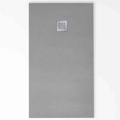 Plato de ducha rectangular HIDRA II 70 x 150 cm hormigón