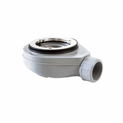Válvula para plato de ducha Baho con rejilla inoxidable