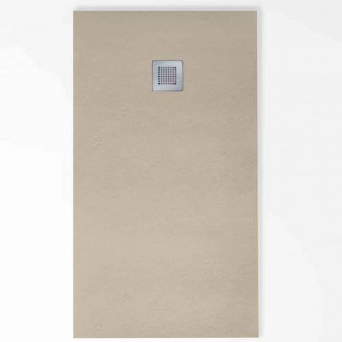 Plat de dutxa Baho HIDRA antilliscant gris oliva 270x140 cm