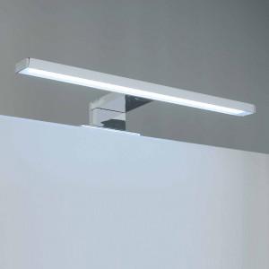 Aplic de bany LED Baho PULSAR de 30 cm cromat amb llum freda