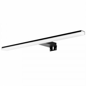 Aplic de bany LED Baho BLACK 45 cm negre llum freda