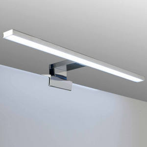 Aplic de bany LED Baho PULSAR de 45 cm cromat amb llum freda