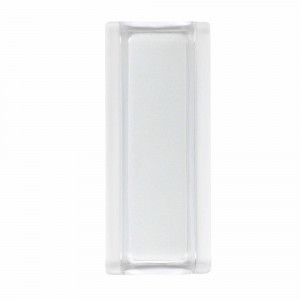 Bloque Bormioli 9x19x1,2 Glass Profile blanco