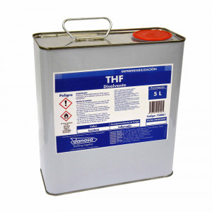 Bote disolvente tetrahidrofurano (tht) Danosa (5 lt)
