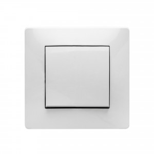 Pz.conmutador Famatel 9302 empotr.10a-250v blanco