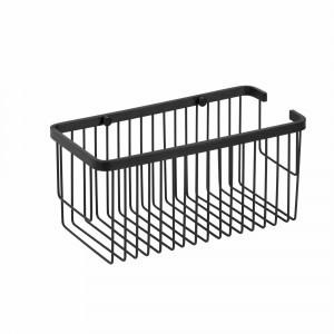Contenidor de dutxa Baho PANIER negre mat 30x14,5 cm