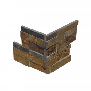 Pz. piedra nat.india -z- corner mult.natural 20x50 (2Pz) NEW