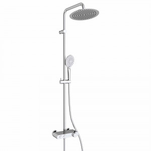Equip de dutxa termostàtic Baho ATRIO cromat