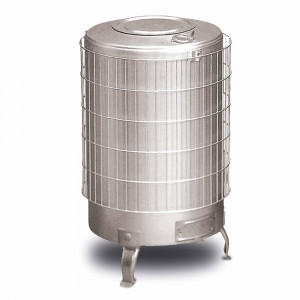Pz. Theca estufa 6500002 alum s/horiz. d.100