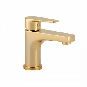 Aixeta de lavabo Baho O2 ORO daurada 13,3 cm ECO