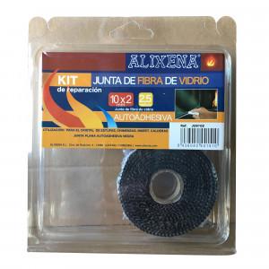 Junta de fibra de vidre plana autoadhesiva d'Alixena 20x2 mm
