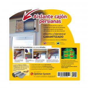 Kit Optimer aislamiento cajón persianas