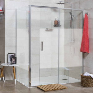 Mampara PALIO de dutxa frontal 78-79,5 cm