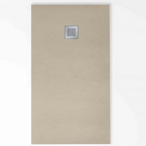 Plat de dutxa Baho HIDRA antilliscant gris oliva 80x160 cm