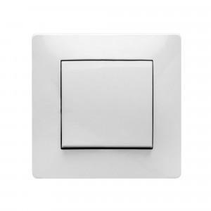 Pz.pulsador Famatel 9110 empotr. 10a-250v blanco