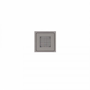 Reixeta quadrada gris plata HIDRA II