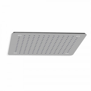 Ruixador de dutxa quadrat Baho ROOF cromat 30x30 cm a sostre