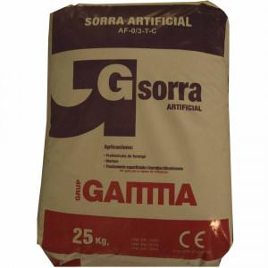 Saco Gamma sorra artificial 0/3 (25kg)