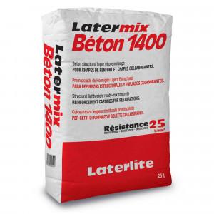 Sac Latermix Betón 1400 de formigó lleuger 25 kg