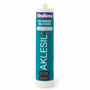 Cart.Quilosa silicona 280ml acida aklesil transl.
