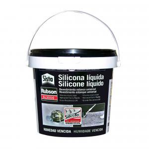 Henkel silicona rubson liquida gris 1kg