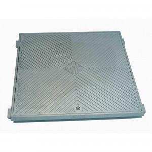 Tapa registro suelo aluminio 40x40