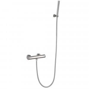 Conjunt de dutxa termostàtic ACER d'acer inox.