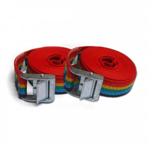 Pack 2 uds. ponsa trinquete amarre 25mm/ 3mts