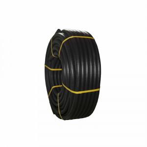 Rollo tubo corrugado forrado Tupersa 25m negro 20mm diametro
