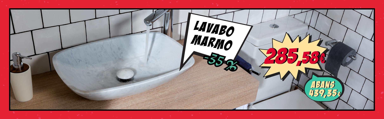 Lavabo Marmo amb un 35% de descompte