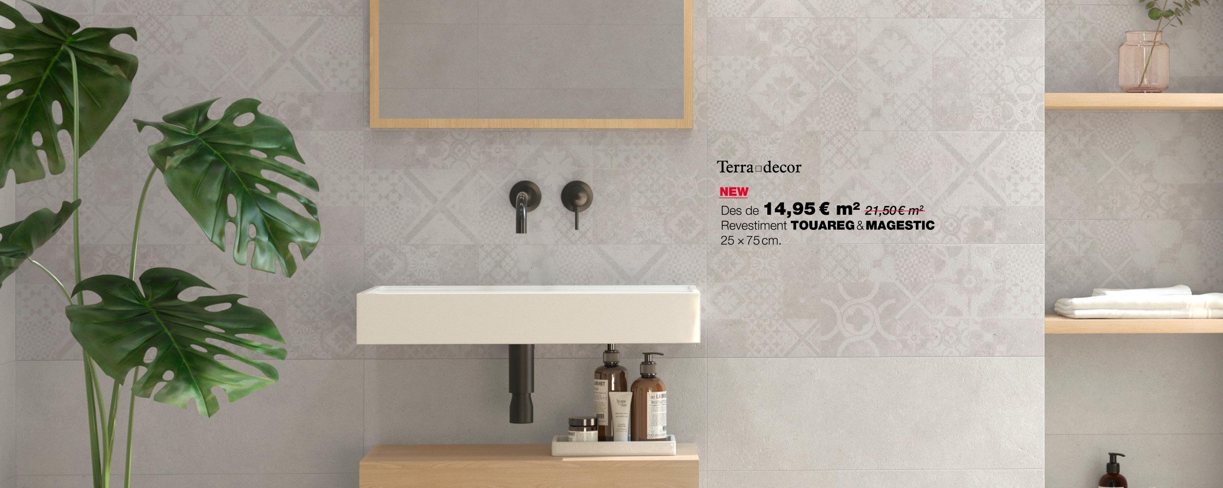 Arriba un nou revestiment per el teu bany, ara pero només 14,95€/m2