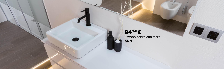 Lavabo sobre encimera ANN por 94,50