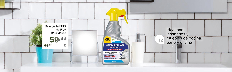 Detergente Fila BRIO para hogar universal 750 ml (12 u)
