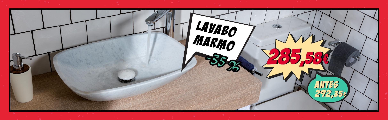 Lavabo MARMO con un 35% de descuento