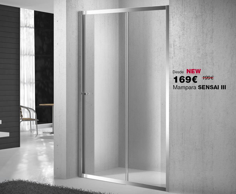 Mampara frontal SENSAI III, ahora por 169€