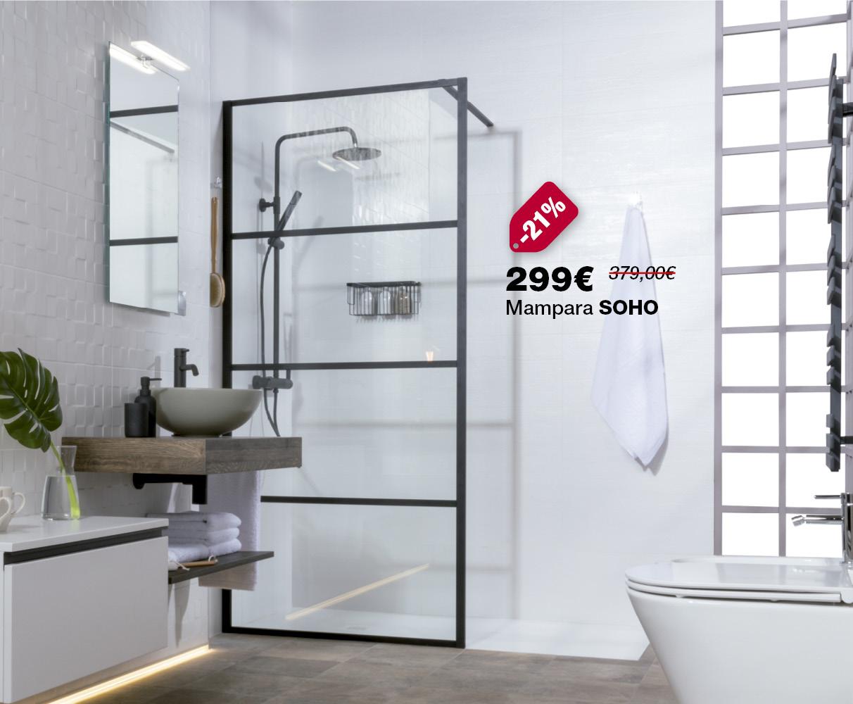 Mampara SOHO por sólo 299€