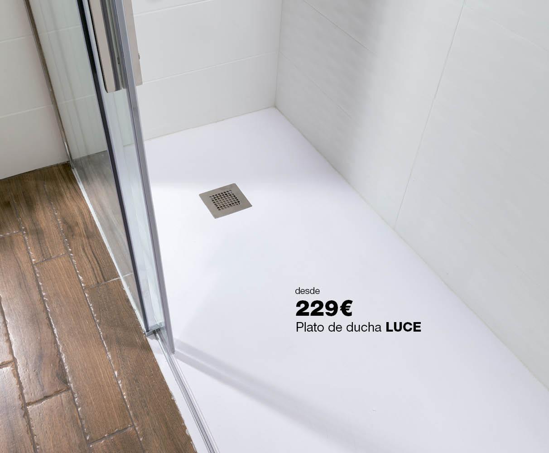 Plato de ducha LUCE desde 229€