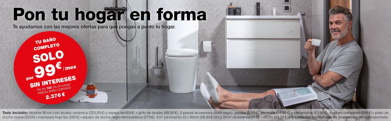 Oferta de baños completos