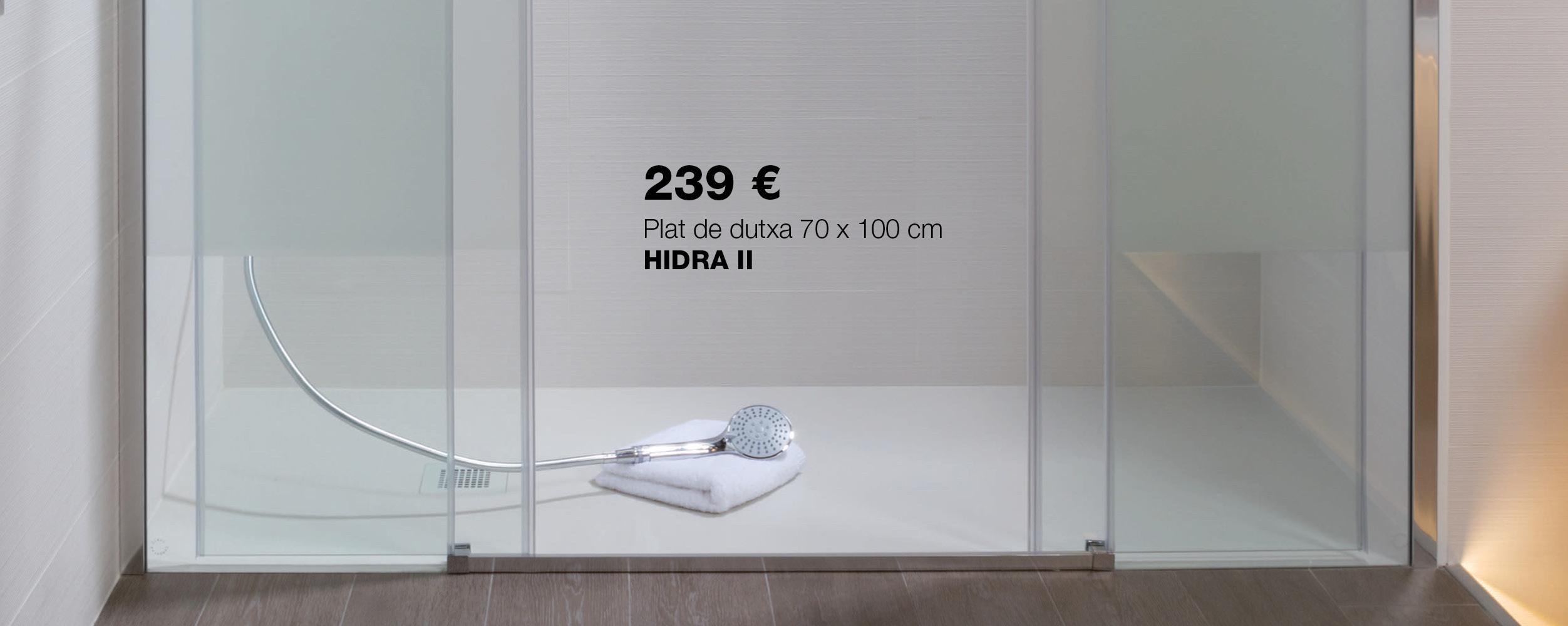 Plat de dutxa HIDRA II