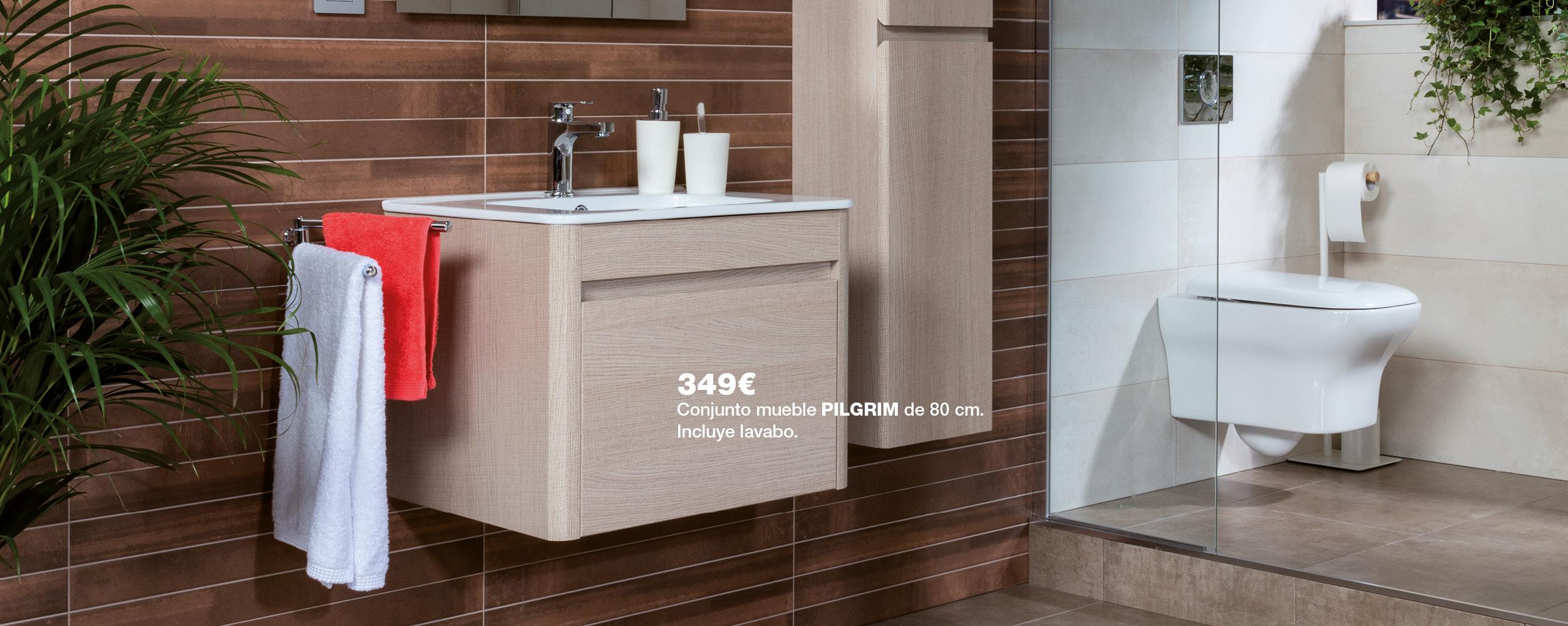 Mueble PILGRIM de 80 cm por 349€