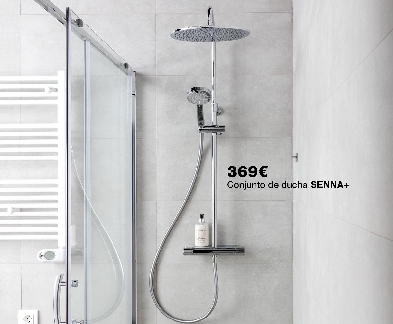 Conjunto de ducha SENNA+, ahora por sólo 369€
