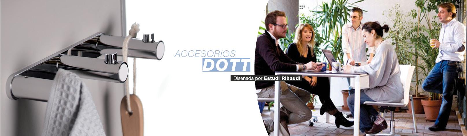 Accesorios de diseño para el baño Dott