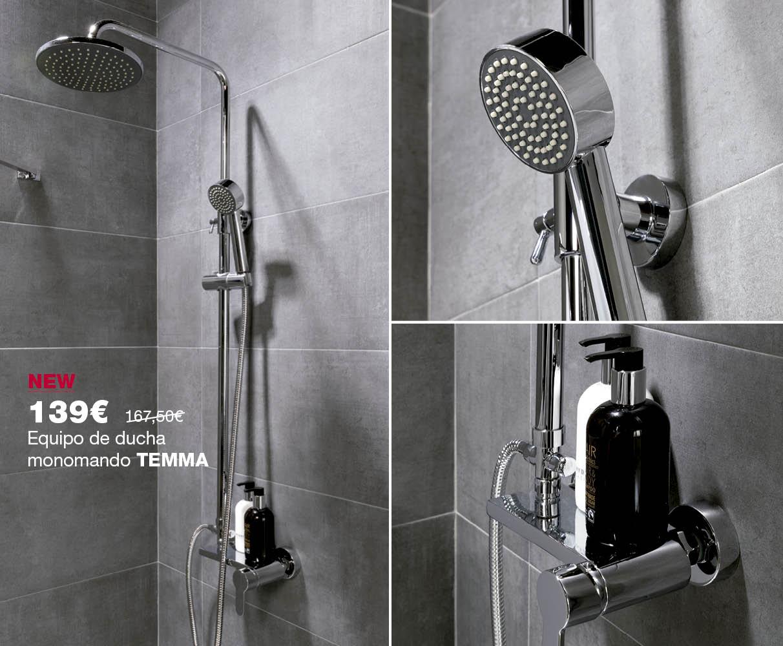 Equipo de ducha TEMMA por 139€