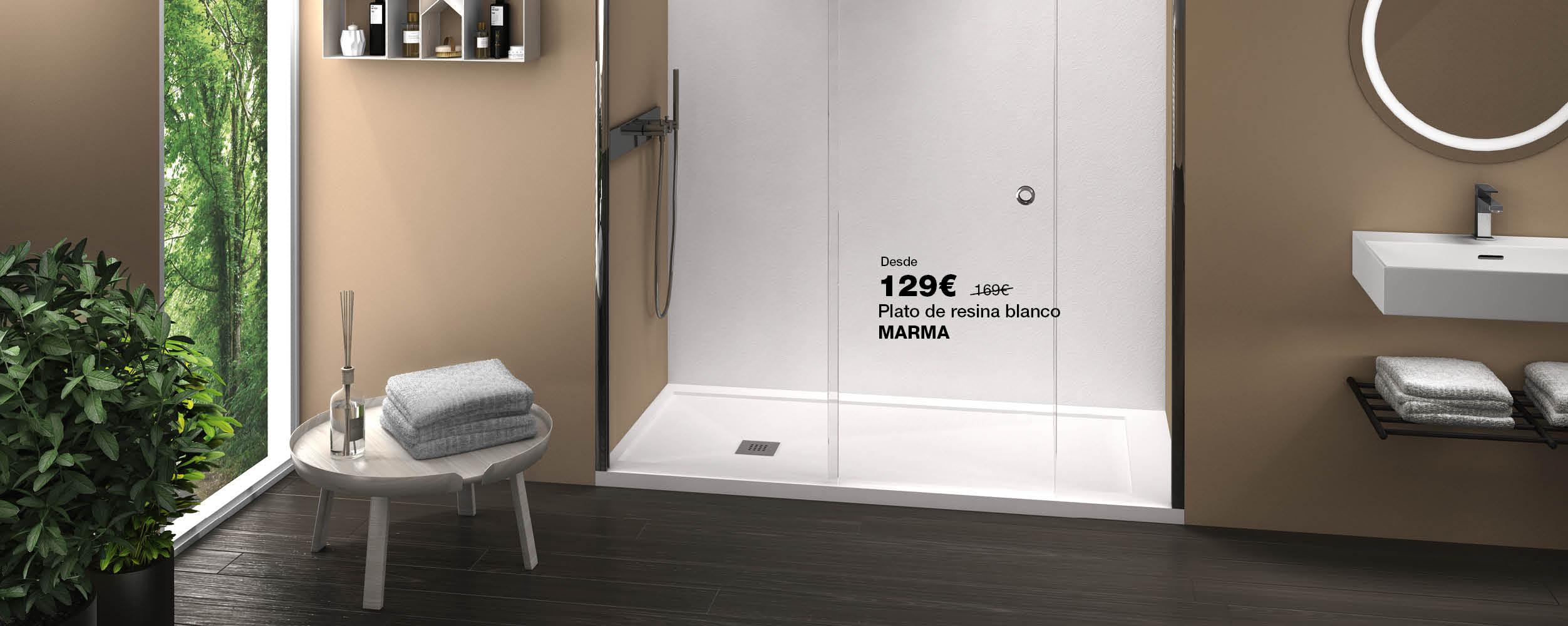 Plato de ducha MARMA desde 129€
