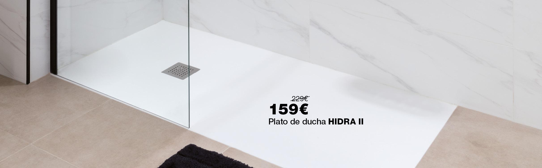 Plato de ducha HIDRA II por 159€