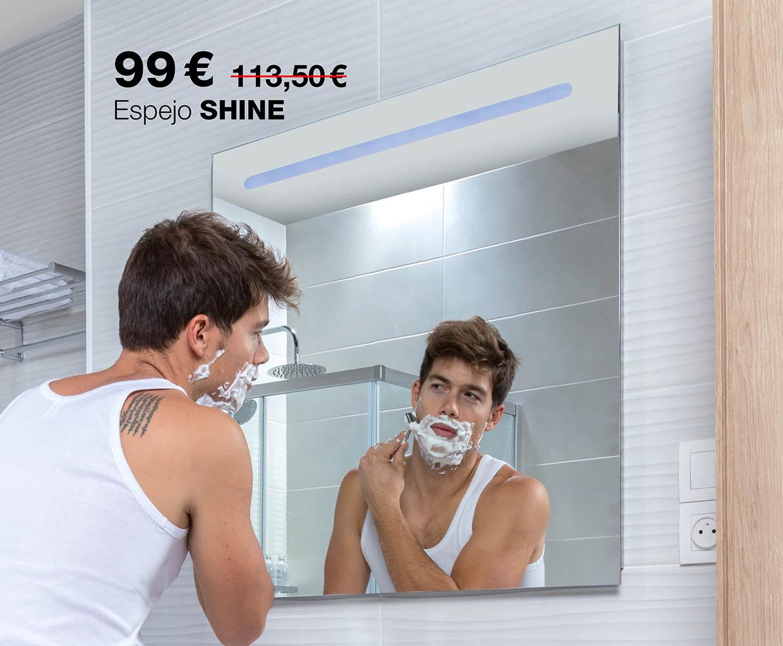 Espejo SHINE por 99€