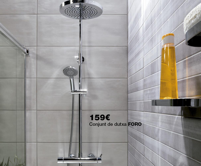 Conjunto ducha FORO por 159€