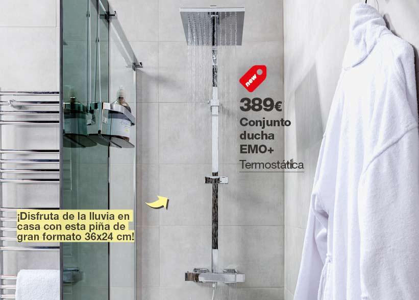 Conjunto ducha EMO +